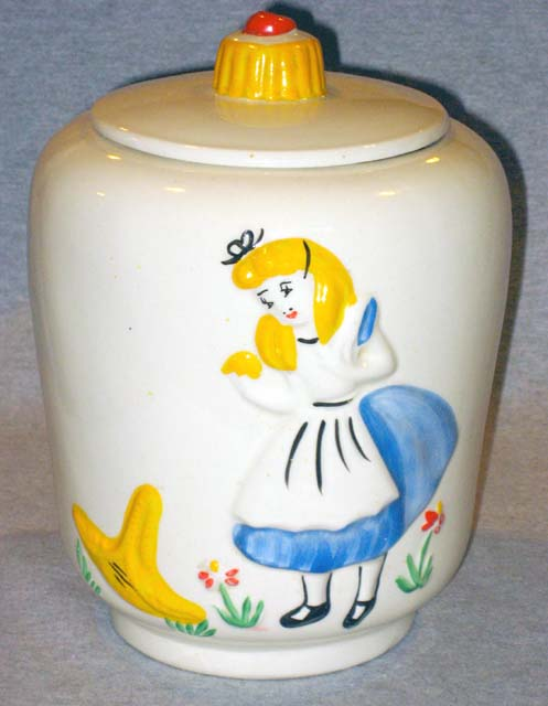 Disney Cookie Jars For Sale Impressive Vintage Disney Alice In Wonderland The Great Cookie Conundrum