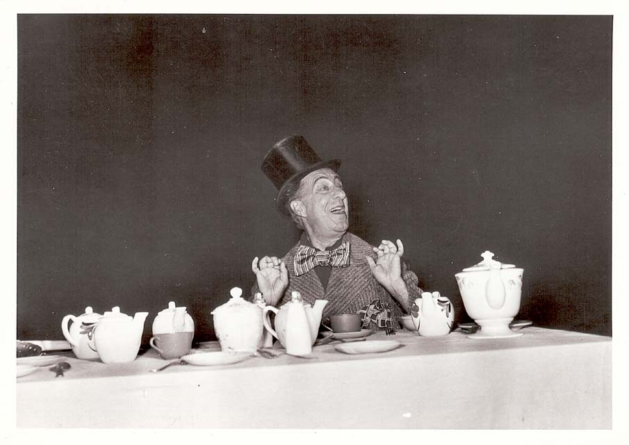 Ed Wynn was also the voice of the Mad Hatter in Disney's Alice In Wonderland.