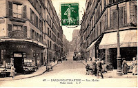 Rue Muller (prise de la rue de Clignancourt)