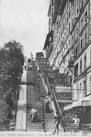 Escalier de la Rue Maurice Utrillo