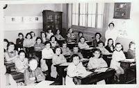 Ecole rue Hermel Classe de CM1(1953-1954)