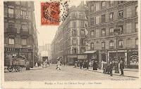 Place du Château Rouge et rue Poulet