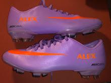Botas Nike moradas