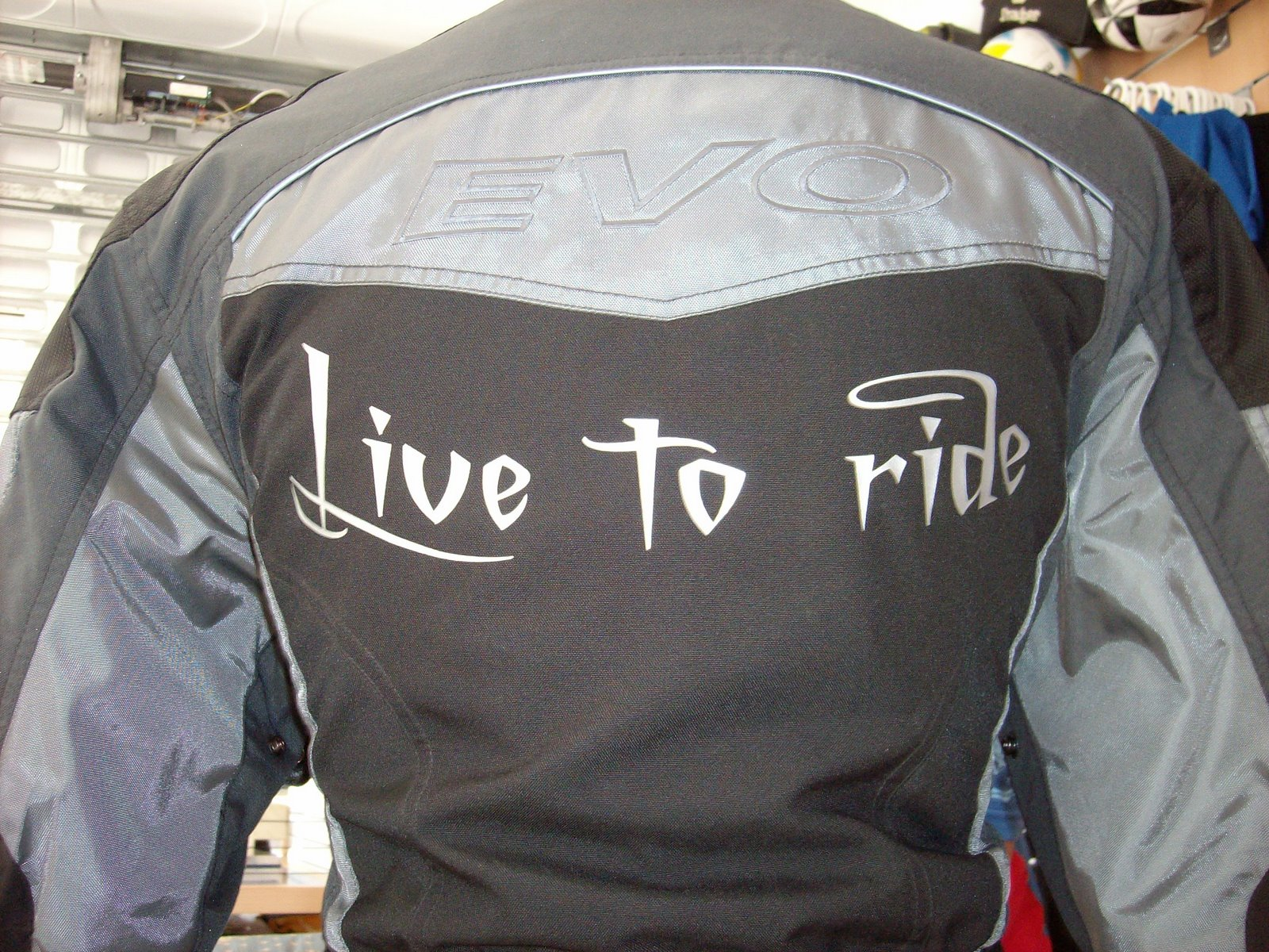 Chaqueta motera Live to ride