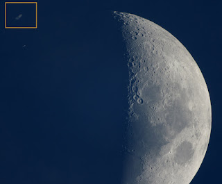 Ocultación de Saturno por la Luna 22/05/2007 II
