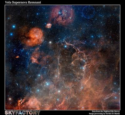 Remanente de la supernova de Vela