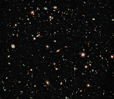 Hubble Ultra Deep Field (HUDF) Infrared