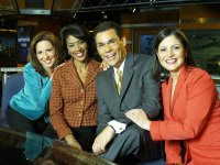 Telemundo 47 anchors (6/11P, Lunes a Viernes)