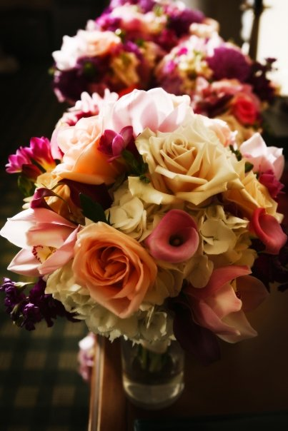 Pink, Peach, and Lavender Wedding Flowers | Erin Volante Floral