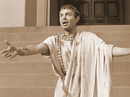 brutus and antony speech Julius caesar friends this is antony's best evidence to contradict the speech of brutus, and antony knows that the majority of his audience will see it as he.
