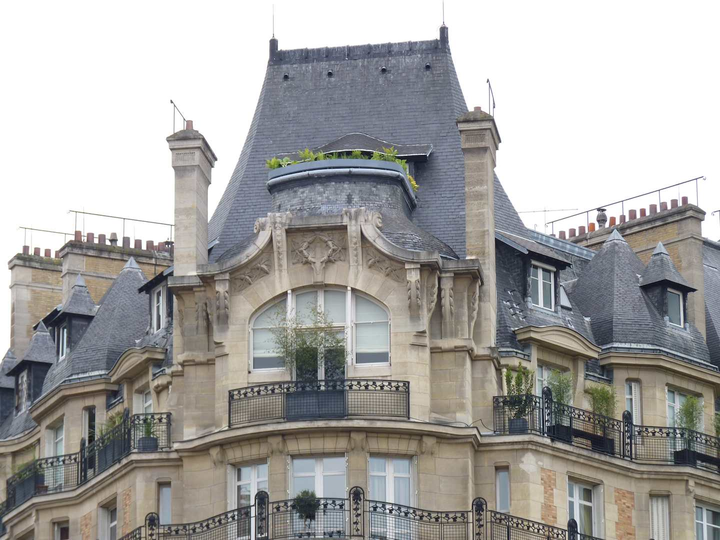 Dispatch from Metz: Roof Lines in Paris