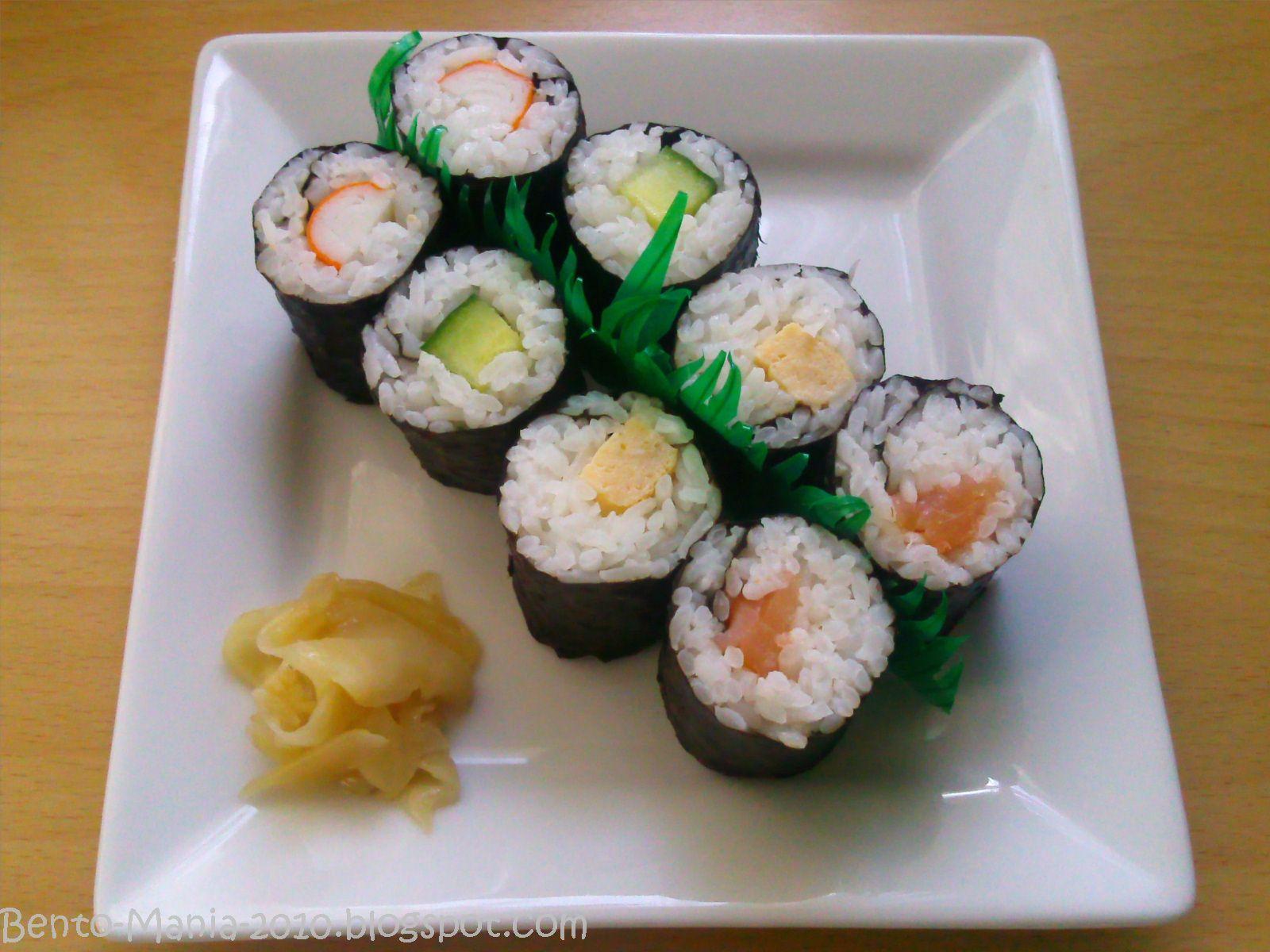 bento mania verr ckt nach der japanischen lunch box rezept maki sushi. Black Bedroom Furniture Sets. Home Design Ideas