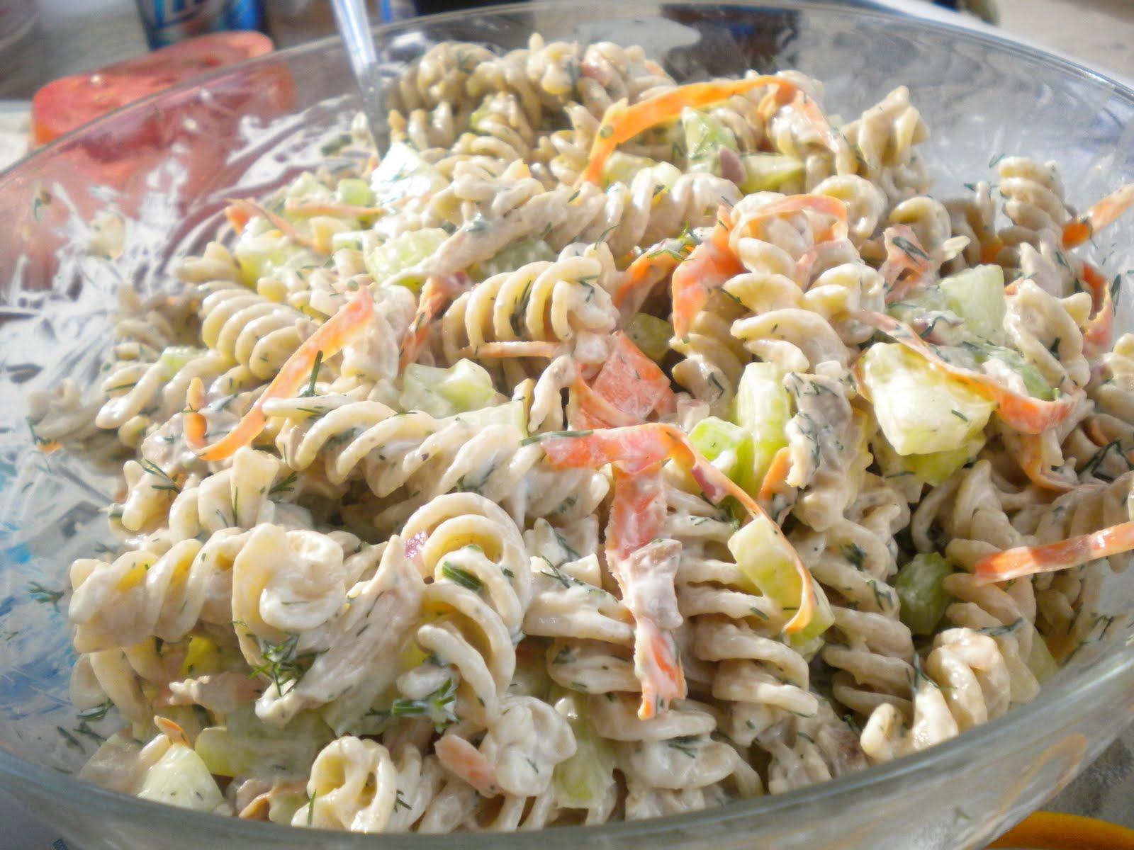 Recipe Creamy Whole Wheat Pasta And Chicken Salad