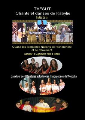 Tafsut Chez la Nation Huronne-Wendat