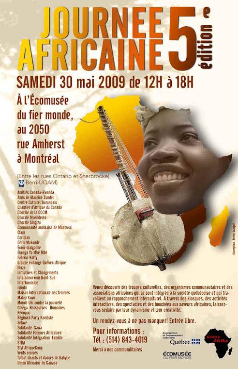 TAFSUT À LA JOURNÉE AFRICAINE 2009