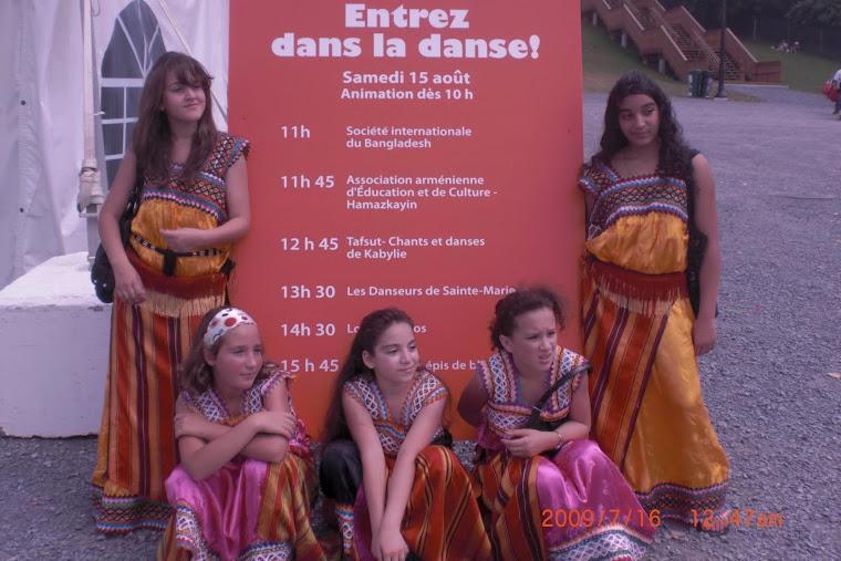 TAFSUT - ATELIER DE DANSE - FÊTE DES ENFANTS 2009