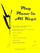 Play Piano In All Keys Books