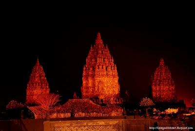 Prambanan Nightview