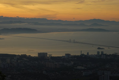 Penang Bridge morning