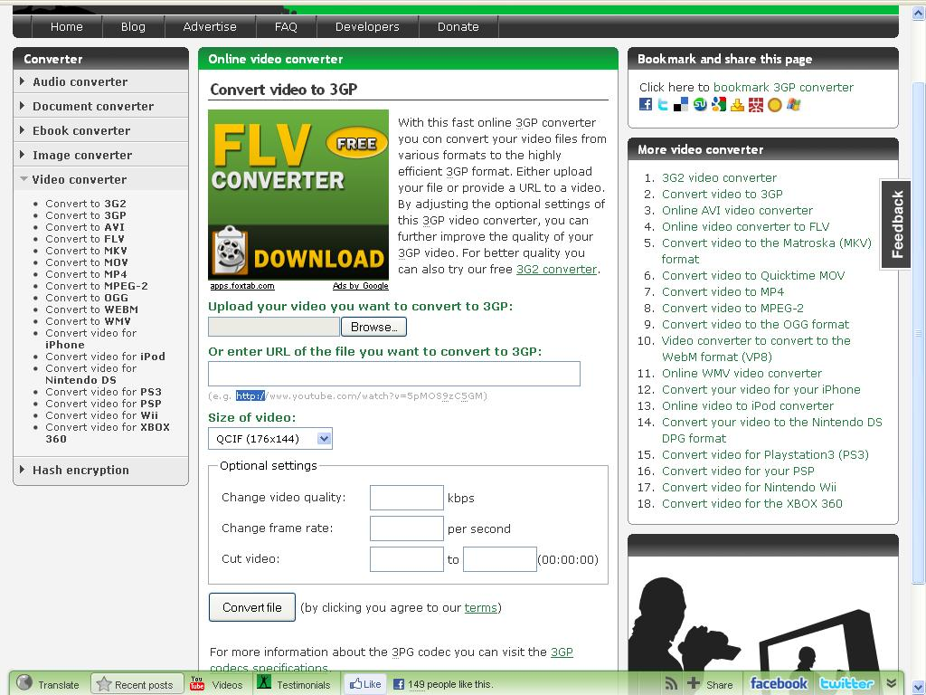 Free Video Converter, Online Video Downloader