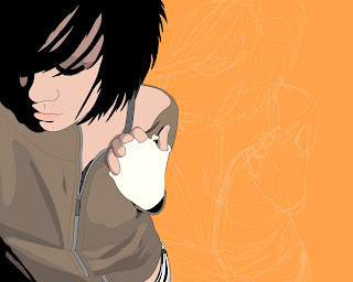 Emo Vector wallpaper