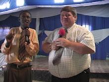 Worship service in Kigali Rwanda