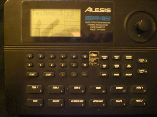 Alesis drummachine with industrial sounds