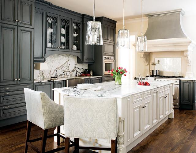 The Astonishing Kitchen backsplash ideas hickory cabinets Image