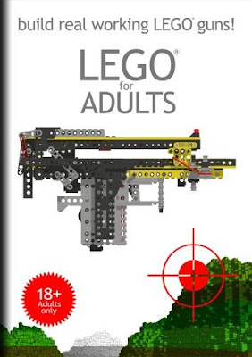 Lego for Adults - build real working LEGO guns Xubor