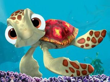 "Squirt from ""Finding Nemo"""