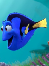 "Dory from ""Finding Nemo"""