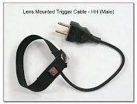 LT1013: Kens Mounted Trigger Cable - Single Switch Ending in HH Male Plug
