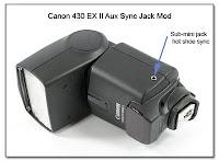 AS1002: Canon 430EX II Aux Sync Jack Mod
