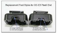 PJ1063: Replacement Foot Styles for OC-E3 Flash End