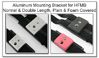 Aluminum Mounting Bracket for HFMB: Normal & Double Length, Plain & Foam Covered