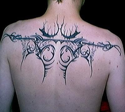 Upper Back Tattoos #2