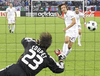 Italie 1-0 France, Pirlo