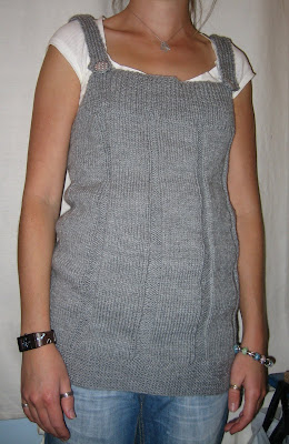 handmade, top, knitted, buttons, spotty, grey, wool