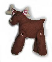 handmade reindeer