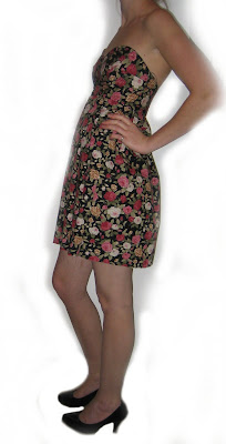 hand sewn flower dress