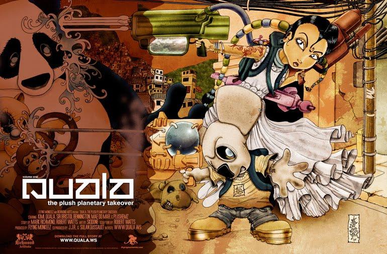 QUALA Graphic Novel