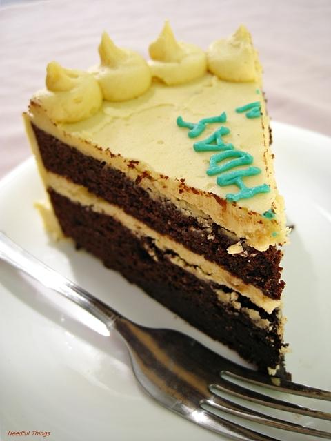 Needful Things: Devils Food Cake with Brown Sugar Cream Cheese ...