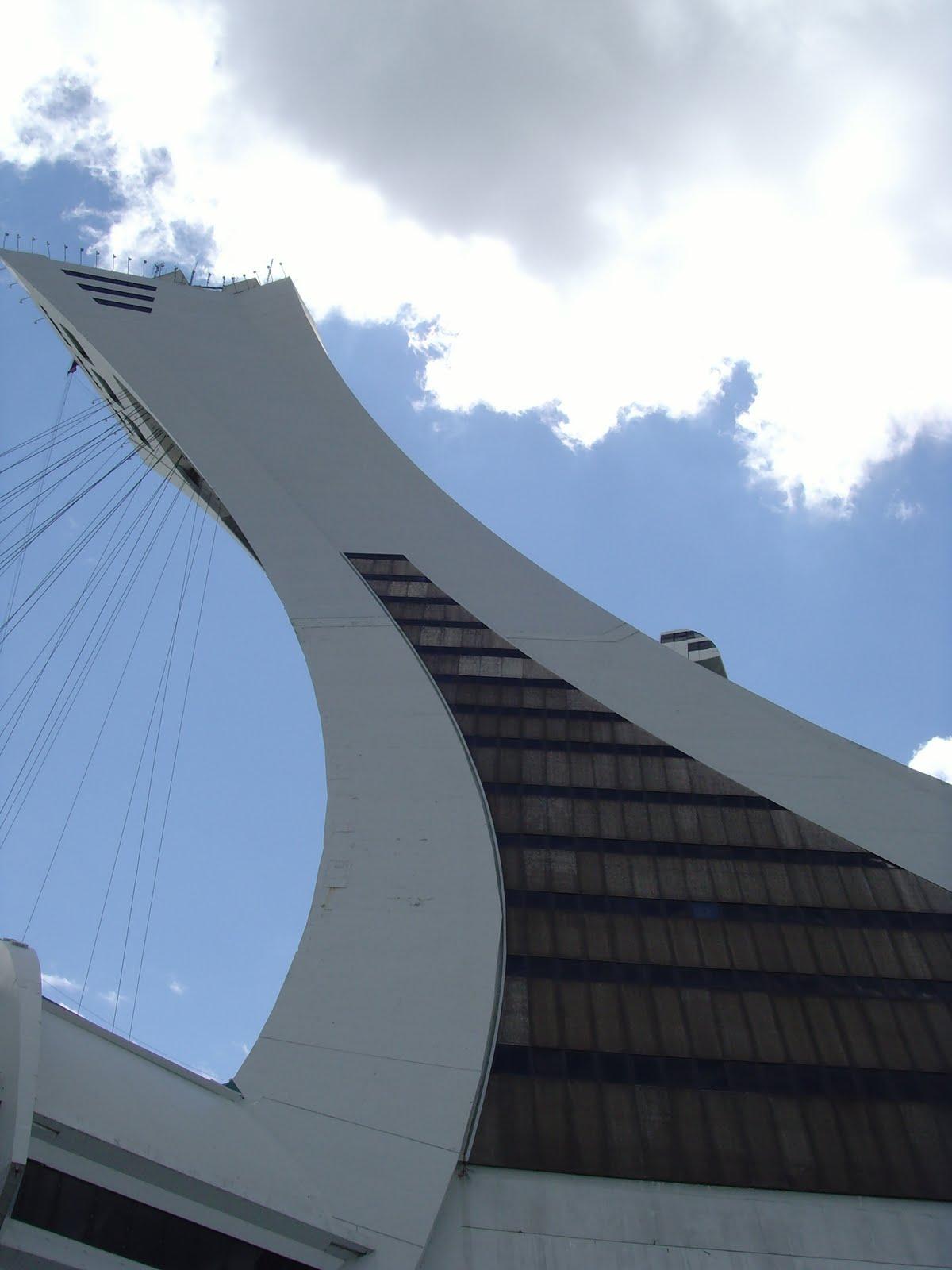Je me souviens le stade olympique de montreal for Club de natation piscine parc olympique