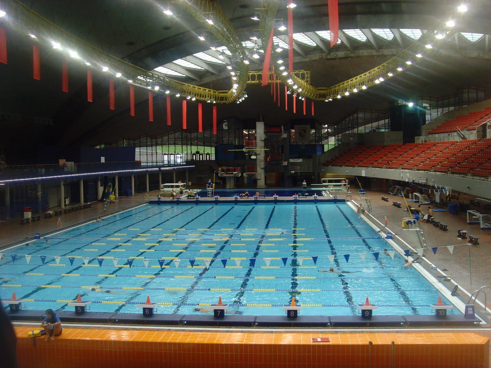 Je me souviens le stade olympique de montreal for Piscine 50m montreal