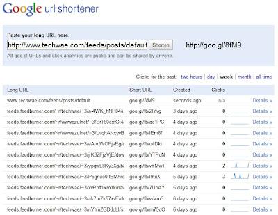 Pendekkan URL dengan Goo.gl