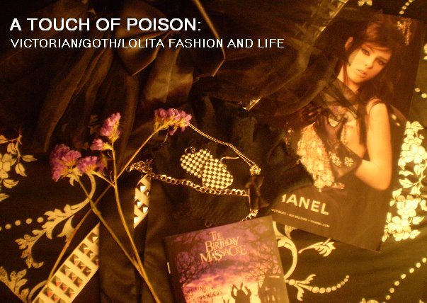 A Touch of Poison: Victorian/goth/lolita fashion