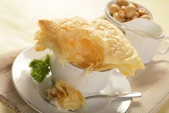Aneka Resep Masakan & Kue Kering: Pastry Sup Jamur