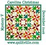 2009 Mystery Quilt #2 Carolina Christmas