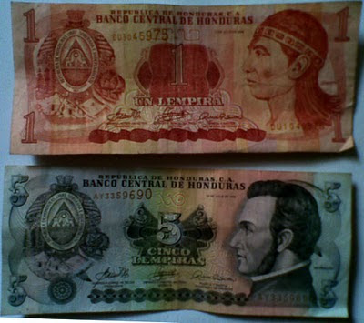 Валюта Гондураса