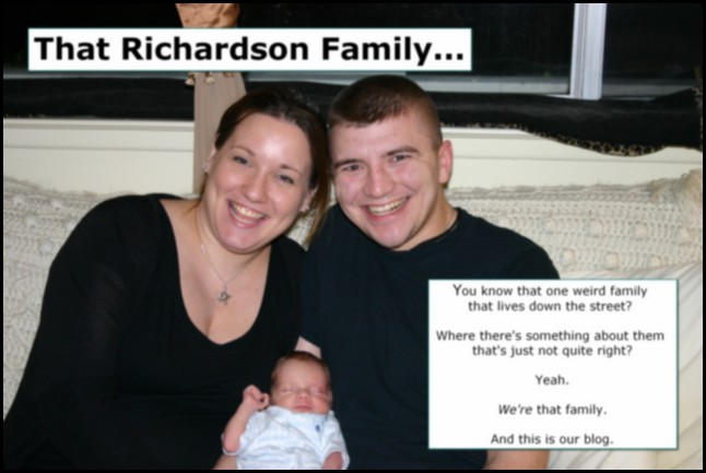 That Richardson family...